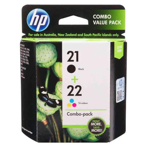 Hp Cartridge 21 22 Combo
