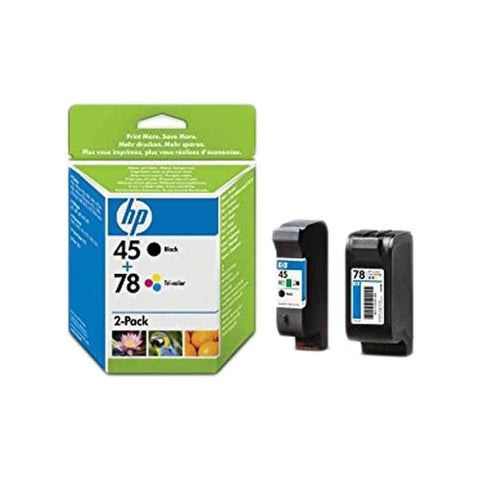 Hp Cartridge 45 Combo