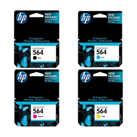 Hp Cartridge 564 Set