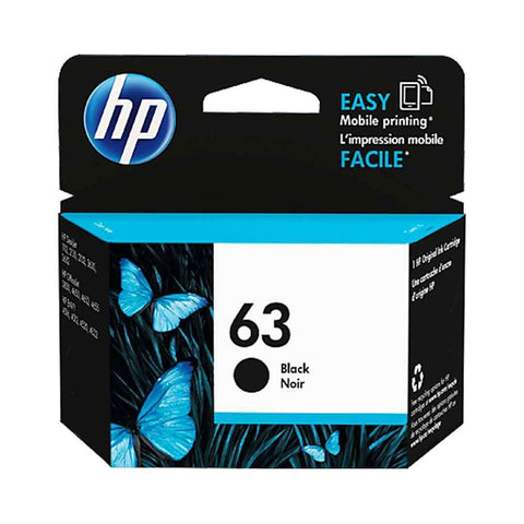 Hp Cartridge 63 Black