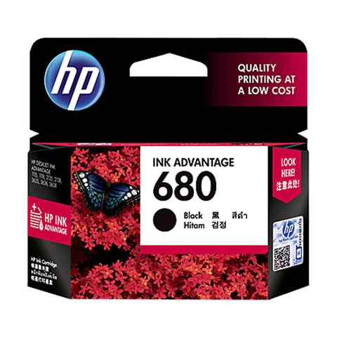 Hp Cartridge 680 Black