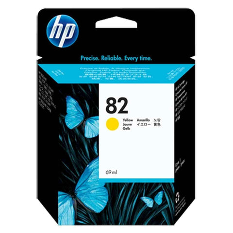 Hp Cartridge 82 Yellow