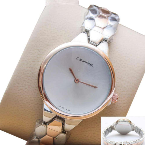 Chain Bracelet Pearl White Ladies Watch