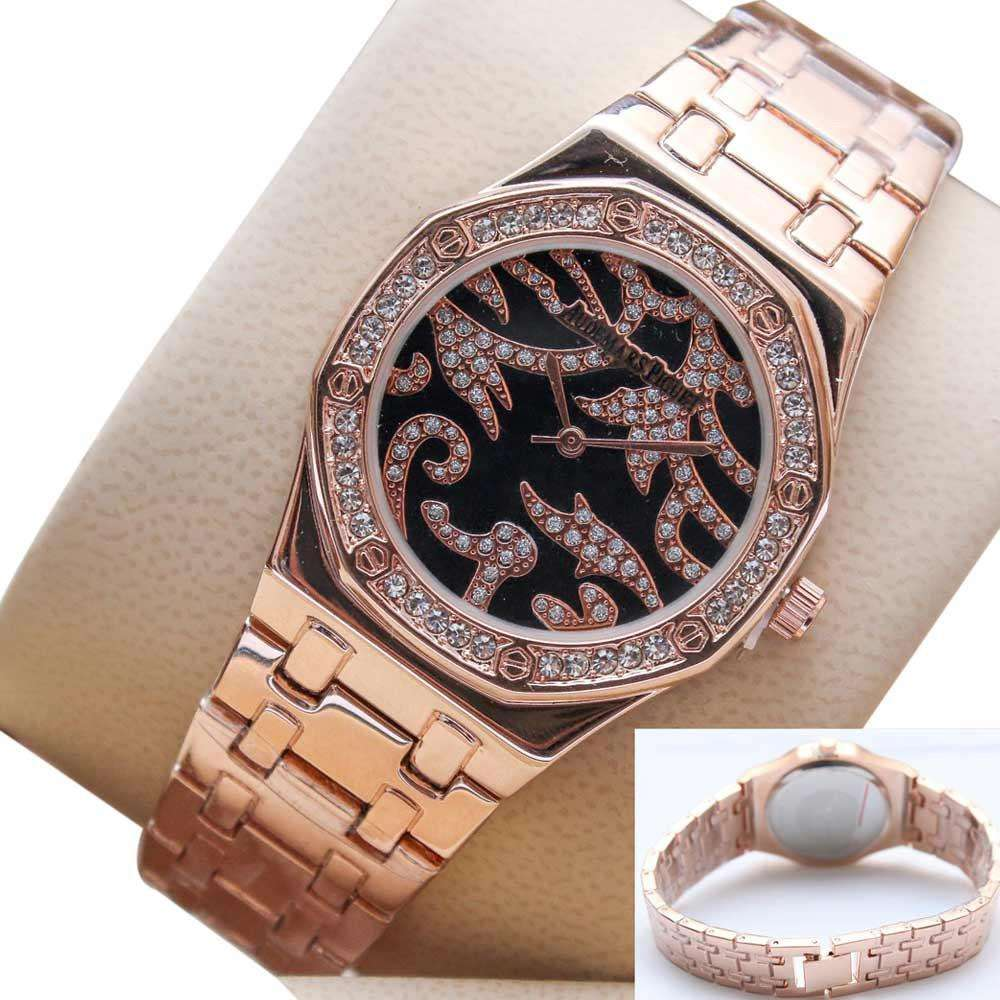 Skeleton Gold Watch for Ladies