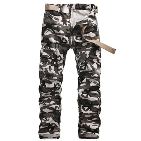 Camo Green Men's Cargo Pants