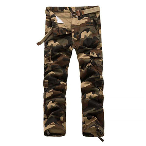 Men's 6 Pocket Camouflage Pants