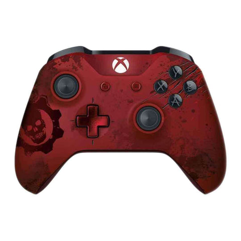 Microsoft Xbox Wireless Controller Gears of War 4 Crimson Omen Limited Edition