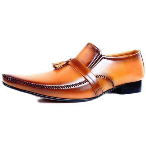 Light Brown Formal Men's Shoes