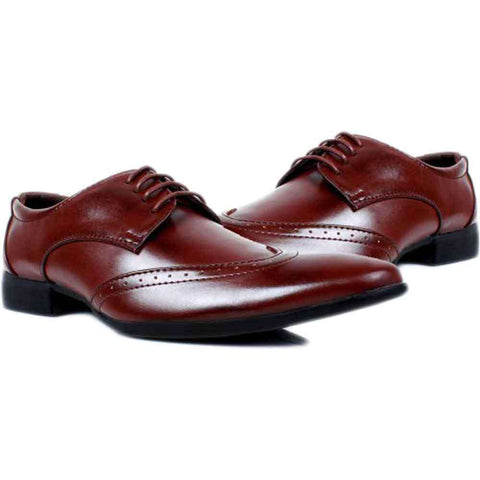 Gent's Creek Dark Brown Formal Shoes