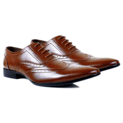 Gents Royal Brown Formal Shoes