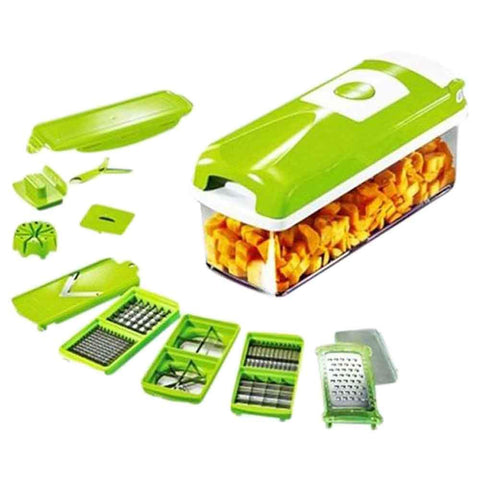 Nicer Dicer Plus Fruit & Vegetable Slicer 12 Pieces
