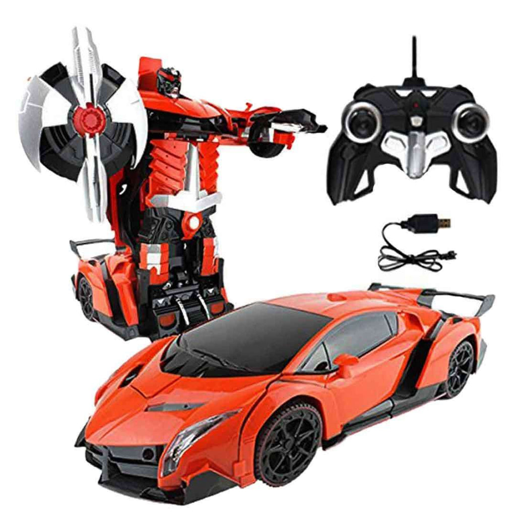 Orange Remote Control Transformer Lamborghini
