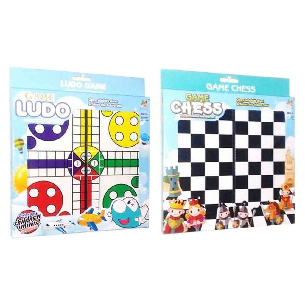 Pack of Ludo & Chess