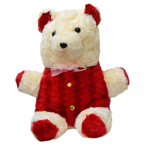 Red & White Teddy Bear