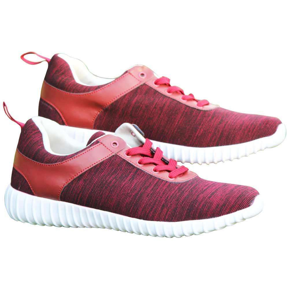 Blood Red Trainers For Men's