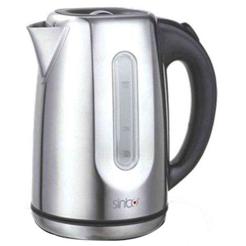 Sinbo Cordless Steel Electric Kettle Silver