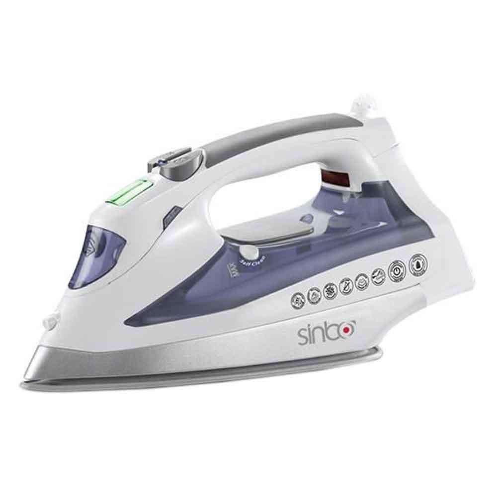 Sinbo Steam Iron Black & White
