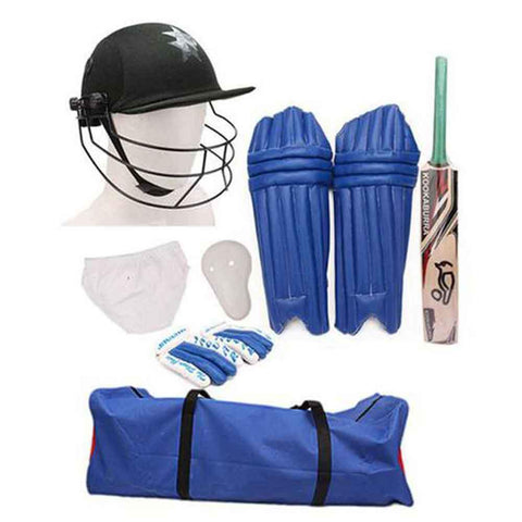 Sportica Cricket Starter Kit For Age 8 12 Multicolor