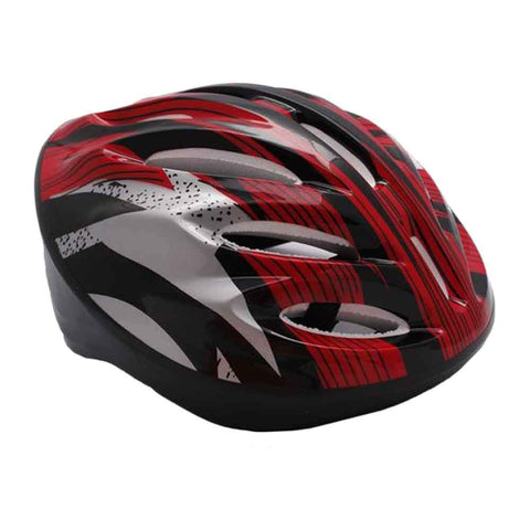 Sports City Large Cycling Helmet Red and Black