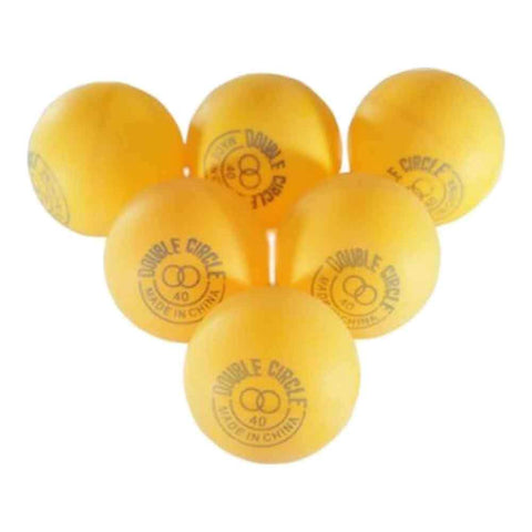 Pack of 6 Table Tennis Ball Orange
