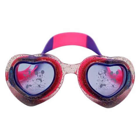 Sports City Swimming Mickey Heart shaped Goggles Purple
