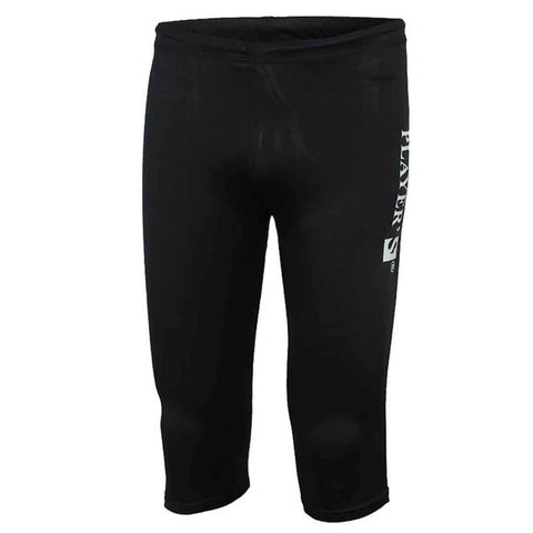 Player's Mid Long Swimming Trunk For Men's Black