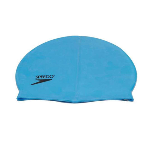 Silicone Swimming Cap Blue