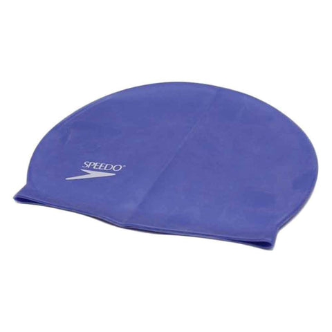 Sports City Swimming Silicone Swimming Cap Navy Blue