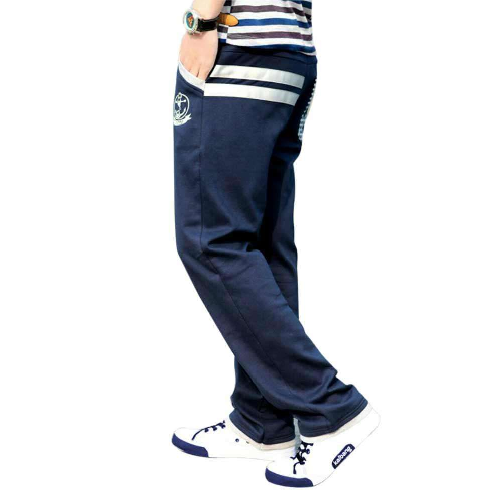 Men's Blue Sweat Trousers