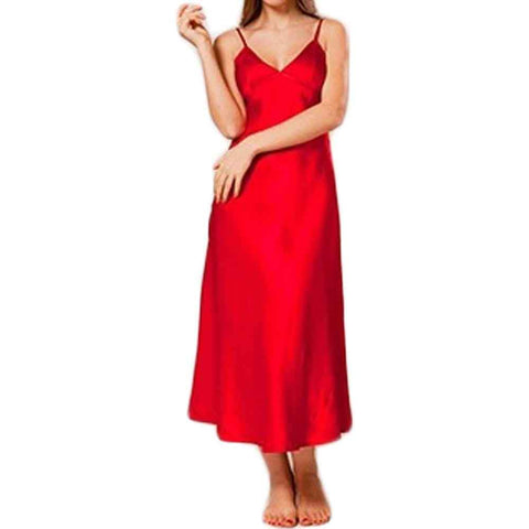 Women's Red long Camisole