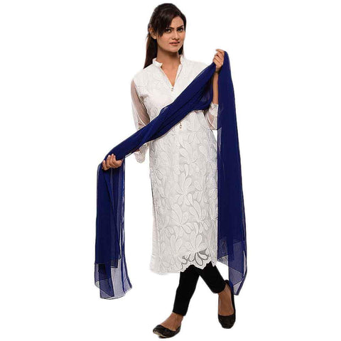 Women's Blue Dupatta