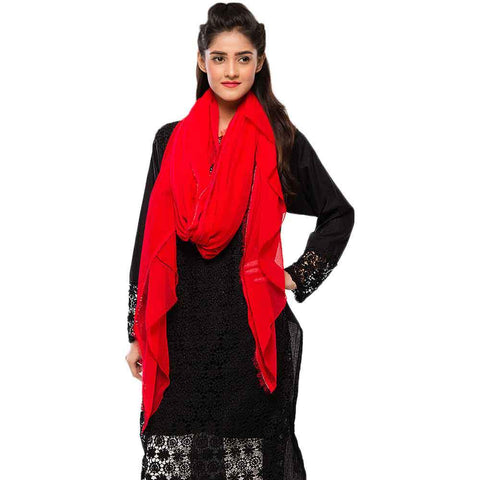 Women's Red Dupatta