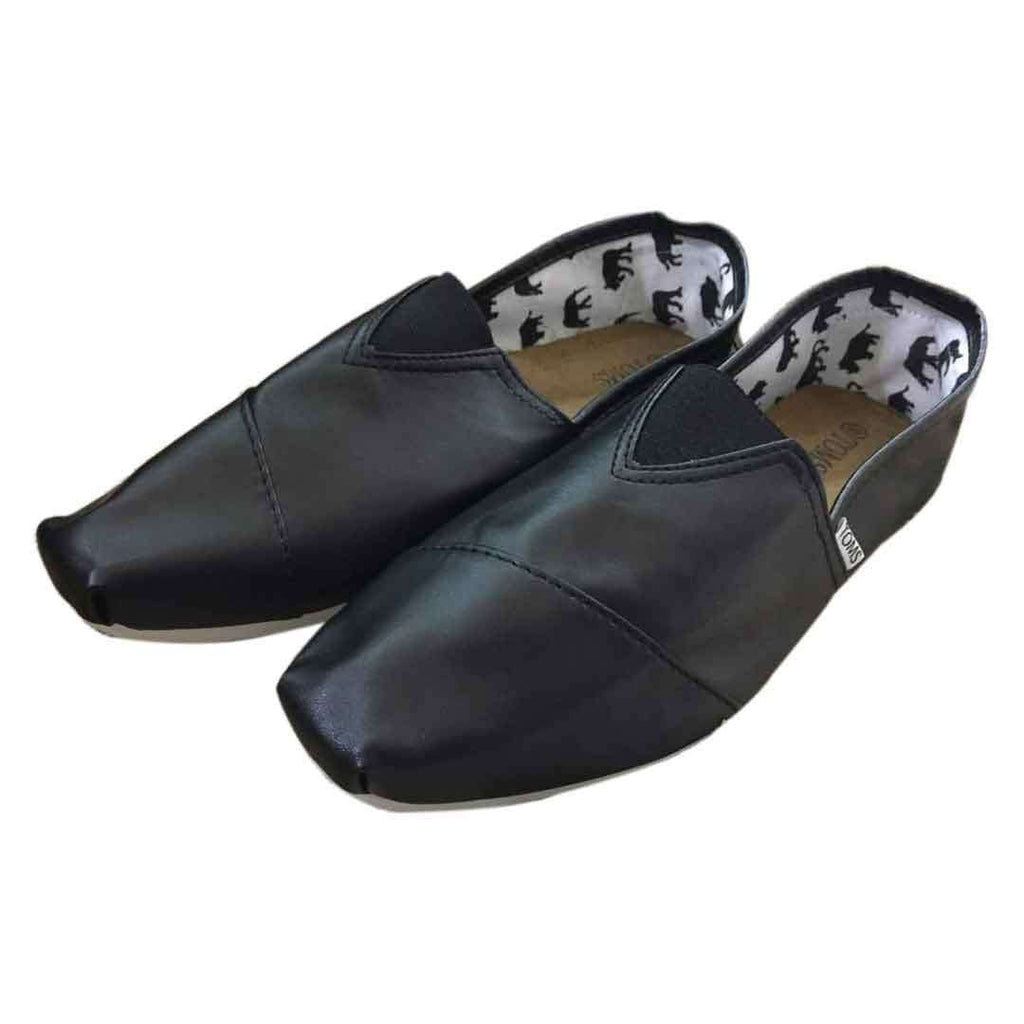 Black Toms Espadrilles for Men