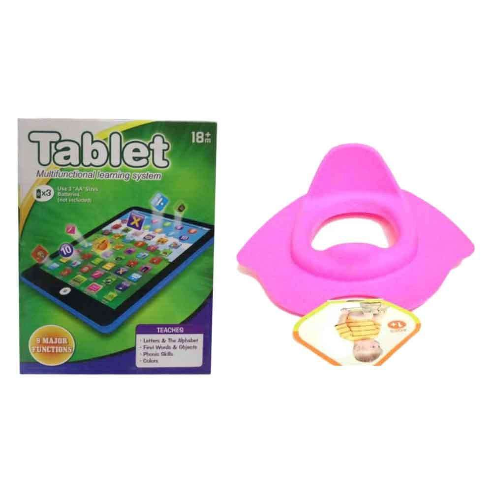 Combo Of Potty Seat & Learning Tablet