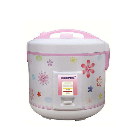 Geepas Electrical Rice & Pressure Cooker White