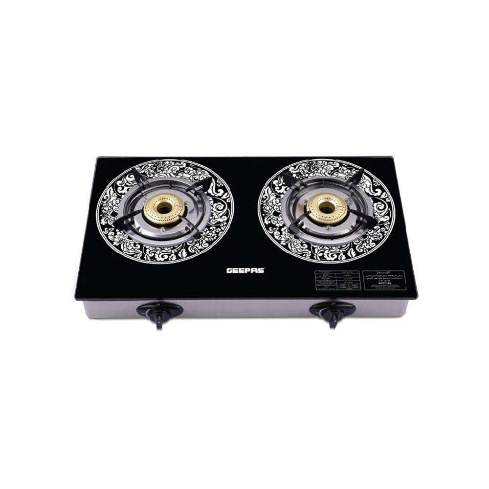 Geepas Gas Cooker Double Burner