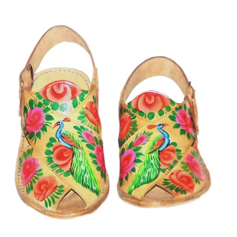 Fawn Truck Art Peshawari For Women