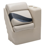 Wise 13006R-986 Premier Pontoon Left Lean Back - Aftermarket Pontoon Furniture