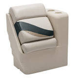 Wise 13006R-988 Premier Pontoon Left Lean Back - Aftermarket Pontoon Furniture