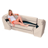 Wise 13006 Premier Pontoon Lean Back Lifestyle - Aftermarket Pontoon Furniture