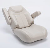 3125 Tellico Premium Bucket Chair Recliner w/ Folding Arm Rests - Reclined View