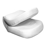 Wise 3155-784 Torsa Pro1 Ergonomic Boat Seat - Closed View