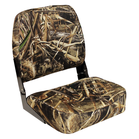 Wise 3312 Economy Low Back Camo Seat