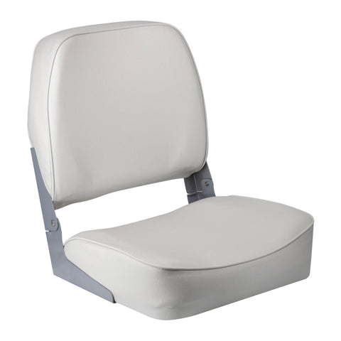 Wise 3313-710 Low Back Boat Seat - White