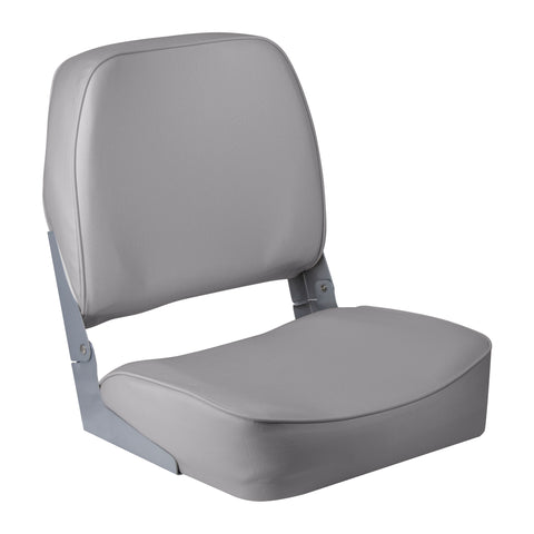 Wise 3313-717 Low Back Boat Seat - Grey