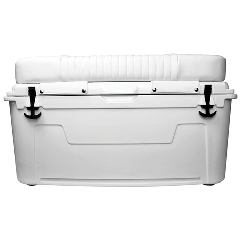 Wise 3331 Ice Cage 105 Qt Cooler w/ Cushion w/ LED Illuminated Lid Powered by Lit Technologies- Premium Yeti Style Cooler