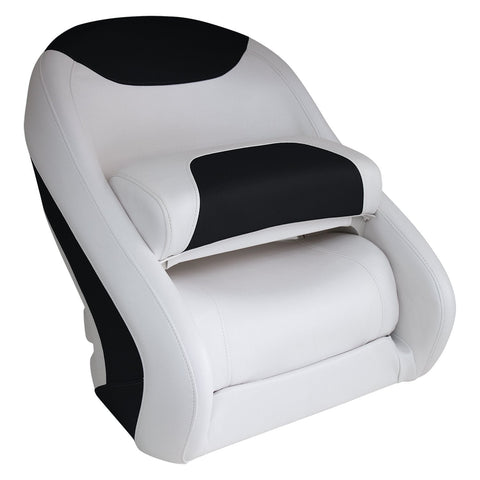 Wise 3336 Classic Style Bucket Seat W Flip Up Bolster