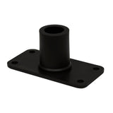 Wise 6015 Flush Mount Bracket for Wise Rod Tender - Bottom View