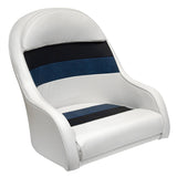 Wise 8WD120LS-1008 Deluxe Pontoon Series Captain's Bucket Seat - Aftermarket Pontoon Furniture
