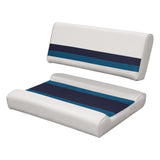 Wise 8WD125FF Deluxe Series Pontoon Flip Flop Seat Cushion Set